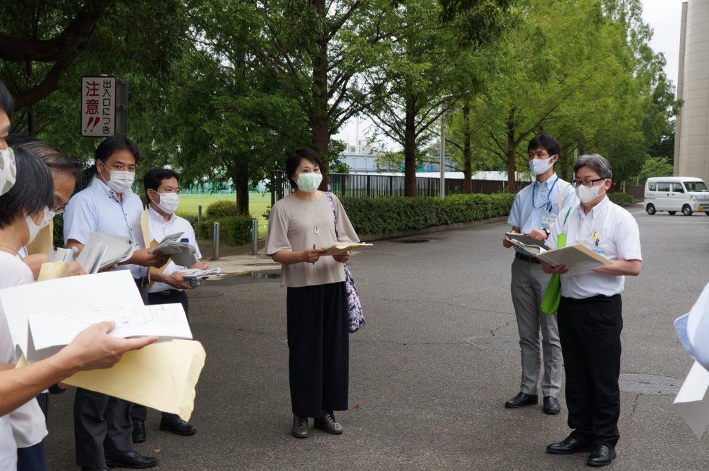 川崎市市民ミュージアムの視察